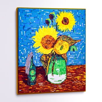 Sonnenblumen (feat Van Gogh)- GAFFA Tape Art- Coverbild