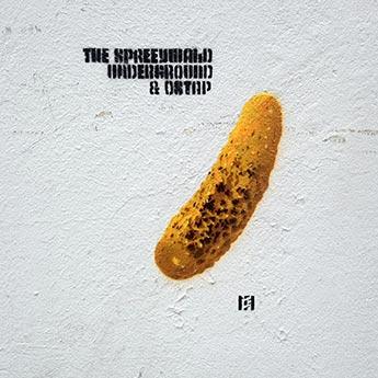 Spreeywald Underground, 2012, Stencil, Spray paint